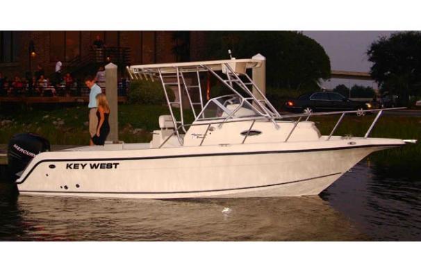 Key West 2300 Walkaround Manufacturer Provided Image