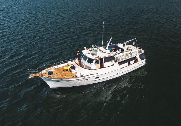 Grand Banks Alaskan 55 Trawler