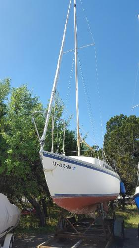 Helms 25 Swing Keel