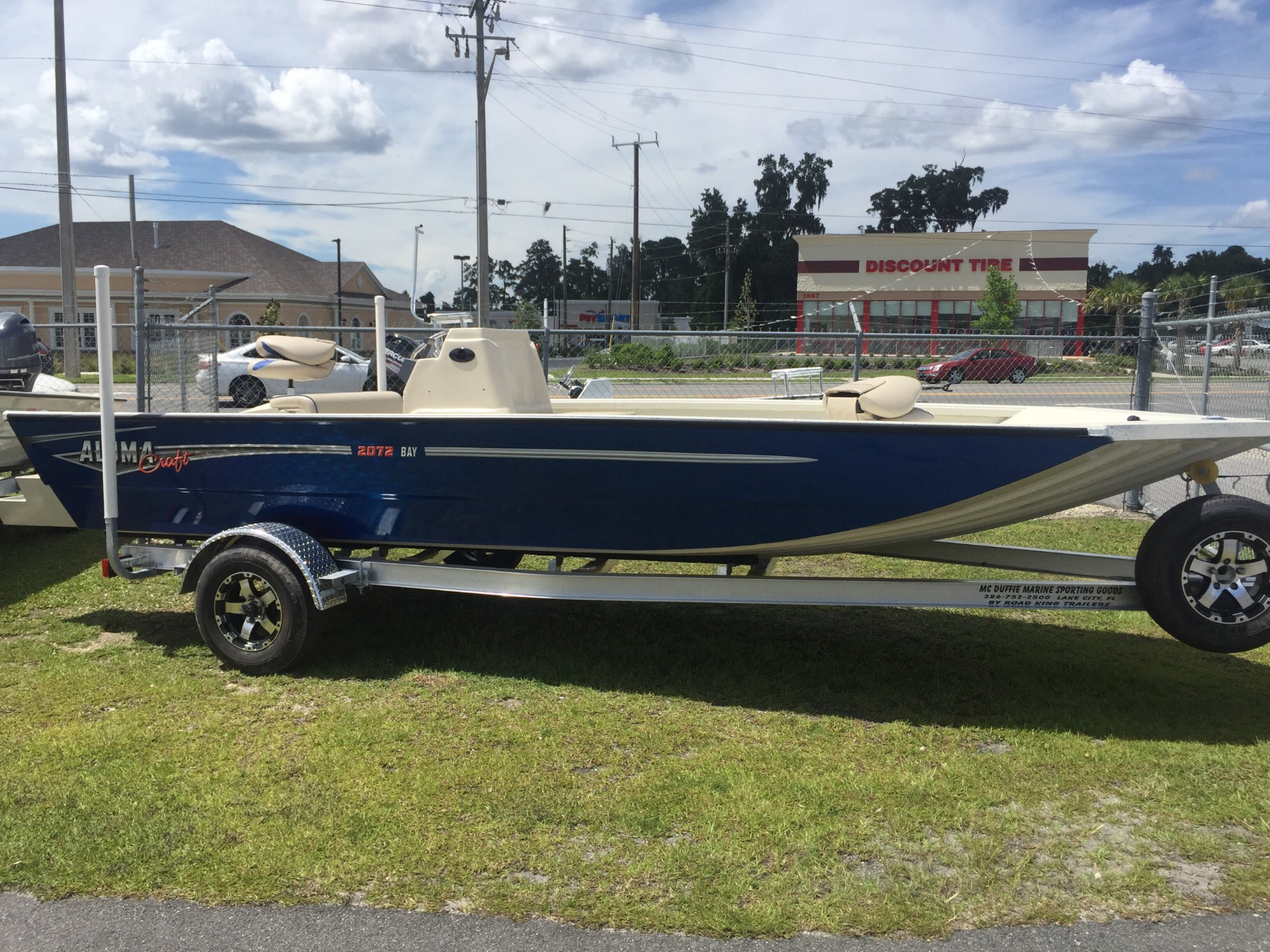 Alumacraft 2072 Bay T Coastal