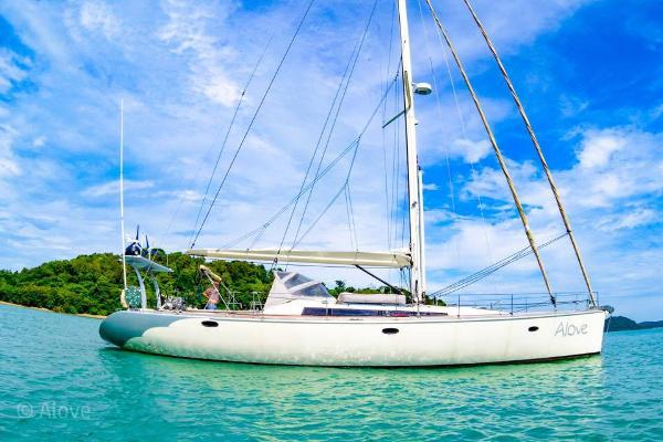 Custom French build Sail Yacht Exterior