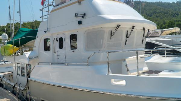 Nordhavn 47 Exterior - Starboard