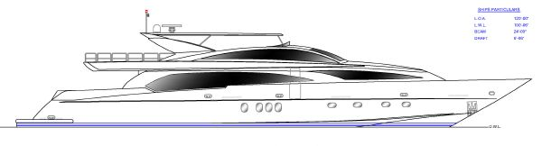 Grand Harbour Motor Yacht 120'