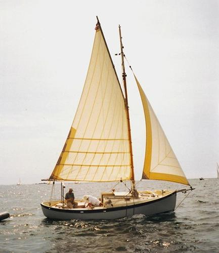 Gartside - French & Webb Double-Ended CB Trailerable Sloop