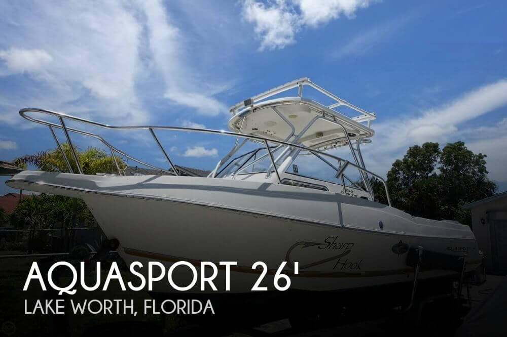 Aquasport 250 Explorer 2001 Aquasport 250 Explorer for sale in Lake Worth, FL