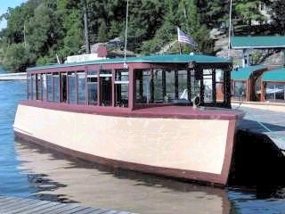 Classic Cedar Passenger Vessel Photo 1