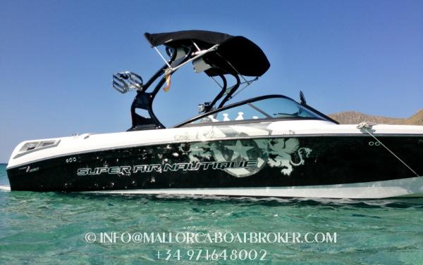 Correct Craft Super Air Nautique 230 Correct Craft Super Air Nautique 230 on Mallorca