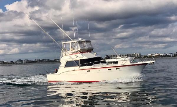 Hatteras 43 Convertible Cannonball profile