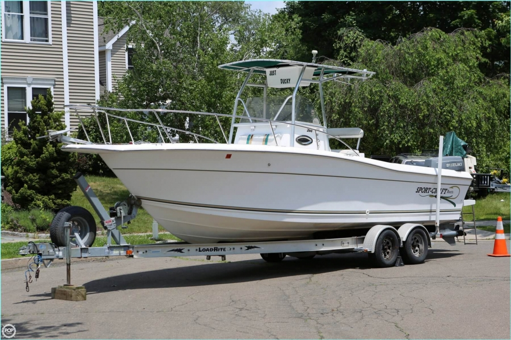 SportCraft 260 Center Console 2000 Sportcraft 260 Center Console for sale in Milford, CT