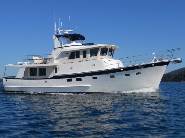 Krogen 52 Ocean Liberty Underway
