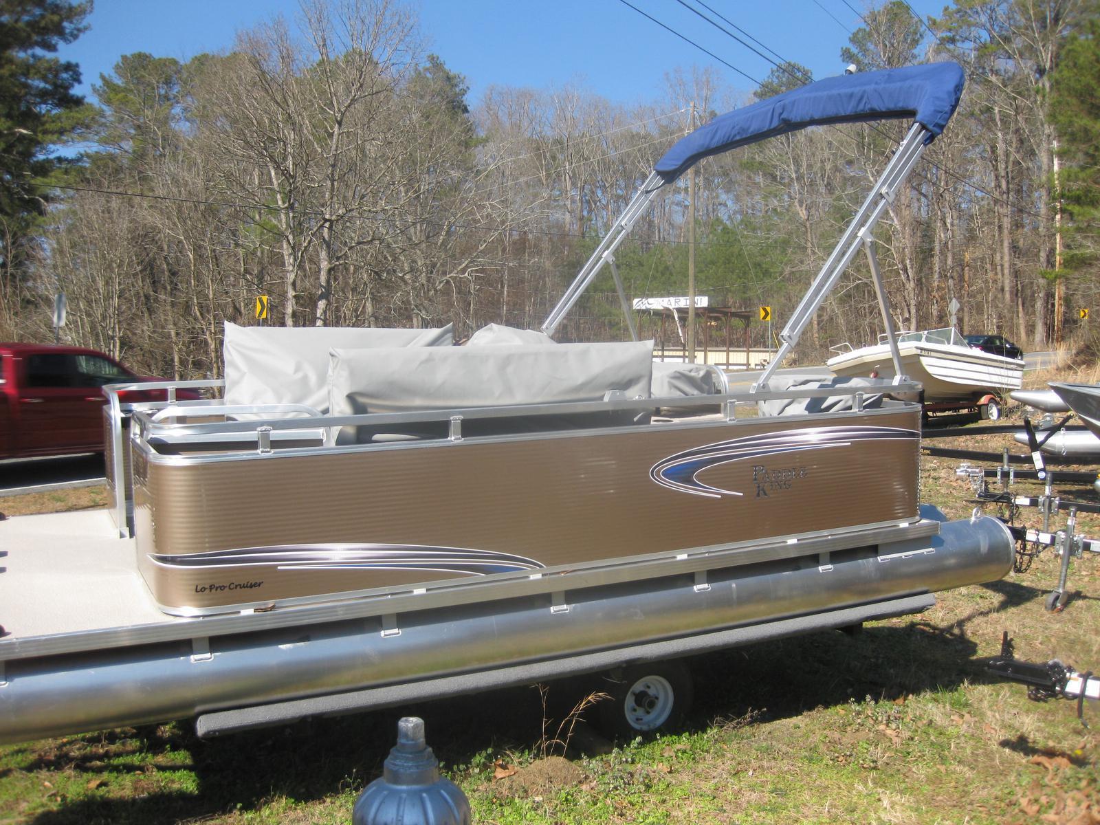 Paddle King Cruiser Electric Pontoon Boat