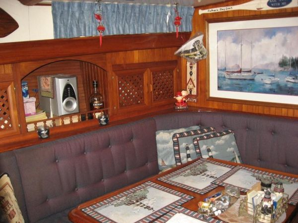 Main cabin from aft