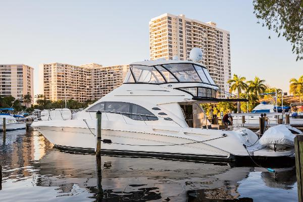 Sea Ray 58 Sedan Bridge Port profile