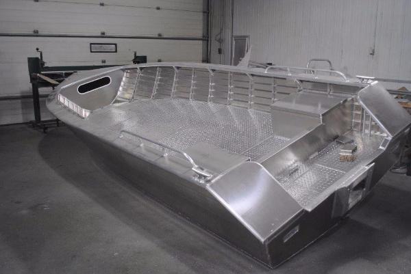 Commercial Aluminum Tiller Boats