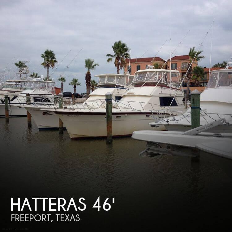 Hatteras 46 Sportfish Convertible 1977 Hatteras 46 Sportfish Convertible for sale in Freeport, TX