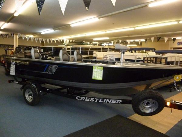 Crestliner 1750 Pro Tiller