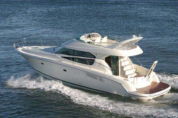 Jeanneau Prestige 42 Fly Manufacturer Provided Image: Cruising