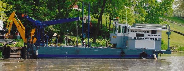 Chrysler Sea Mule Marine Tug/Work Barge