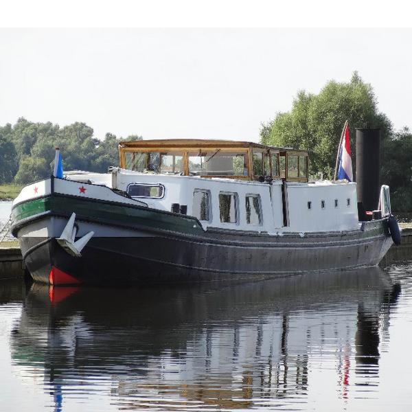 Dutch Barge Luxe motor, TRIWV certified