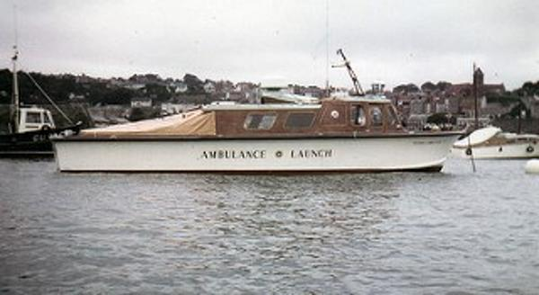 Custom Flying Christine Historic ambulance vessel