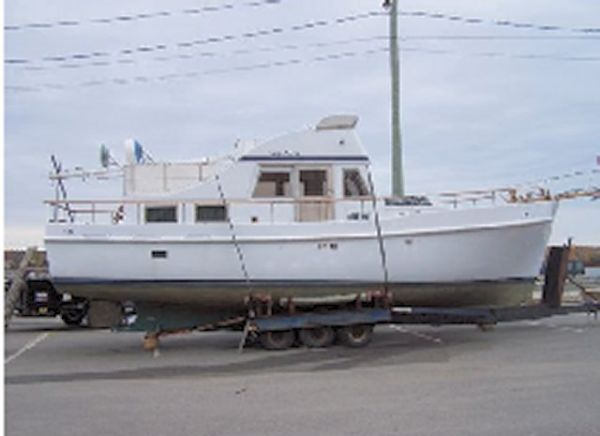Wood/Fiberglass Lachance Trawler/Yacht Photo 1