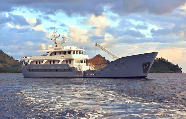 Custom Expedition Luxury LRC Yacht Global Expedition Yacht ANDA