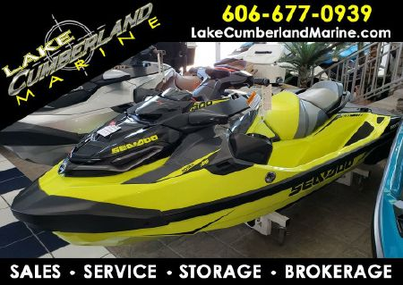 2019 Sea-Doo RXT®-X® 300 IBR & Sound System Neon Yellow and