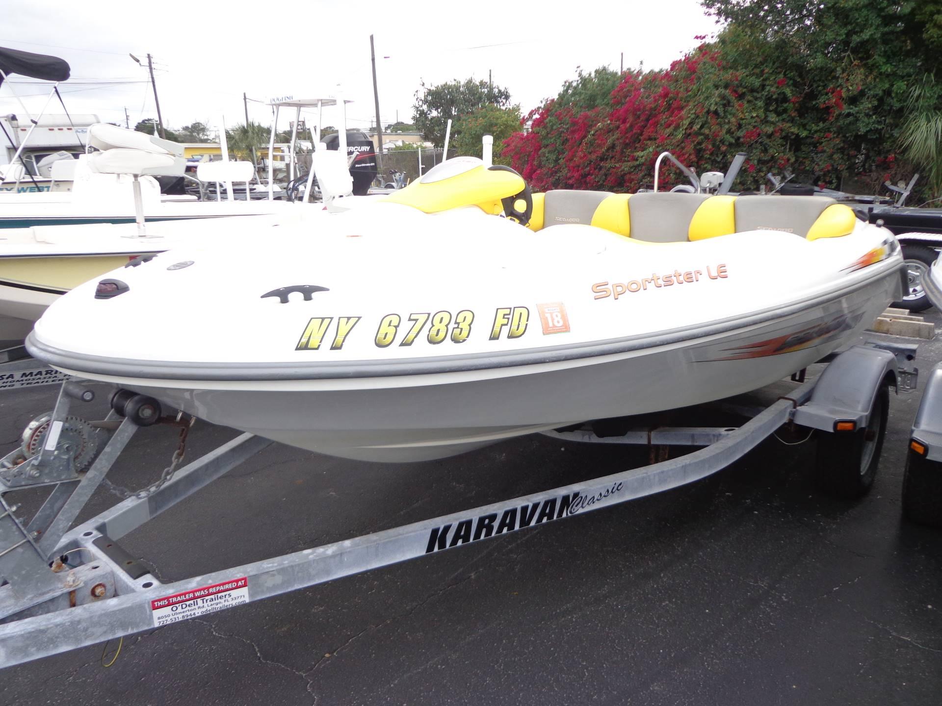 Sea-Doo Sport Boats Sportster LE DI