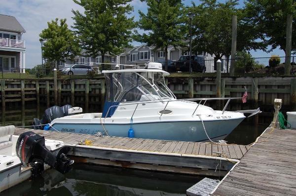 Polar 2300WA Profile At The Dock