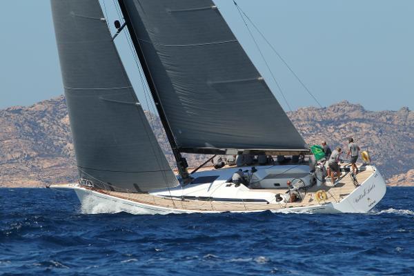 Nautor Swan 60 Cruiser / Racer Racing, portside