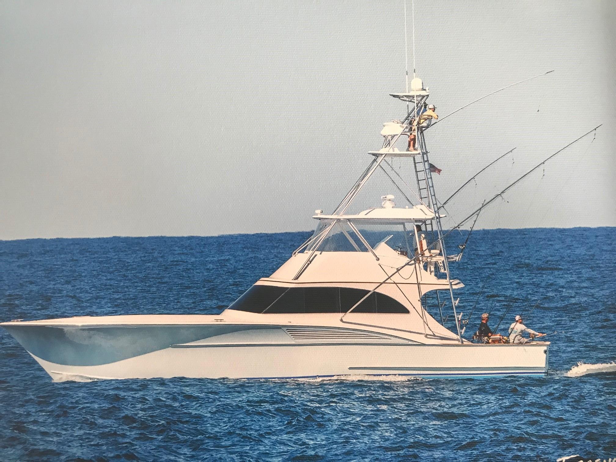 Shearline Boats 58 Sportfish Convertible