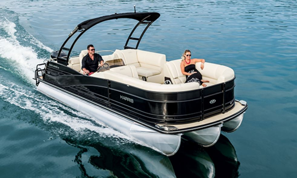 Harris Grand Mariner 230 GM SL - TRITOON