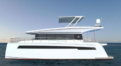 Silent Yachts 44 Side View