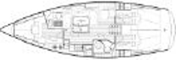 Bavaria 40 - Design Footprint