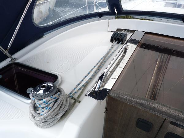 Bavaria 40 - Port Side Clutches & Winch