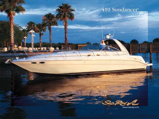 Sea Ray 410 Sundancer Profile