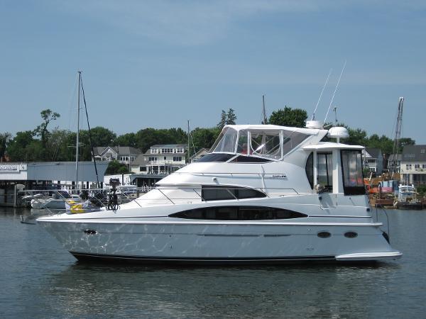 Carver 396 Aft Cabin Motoryacht Port Profile