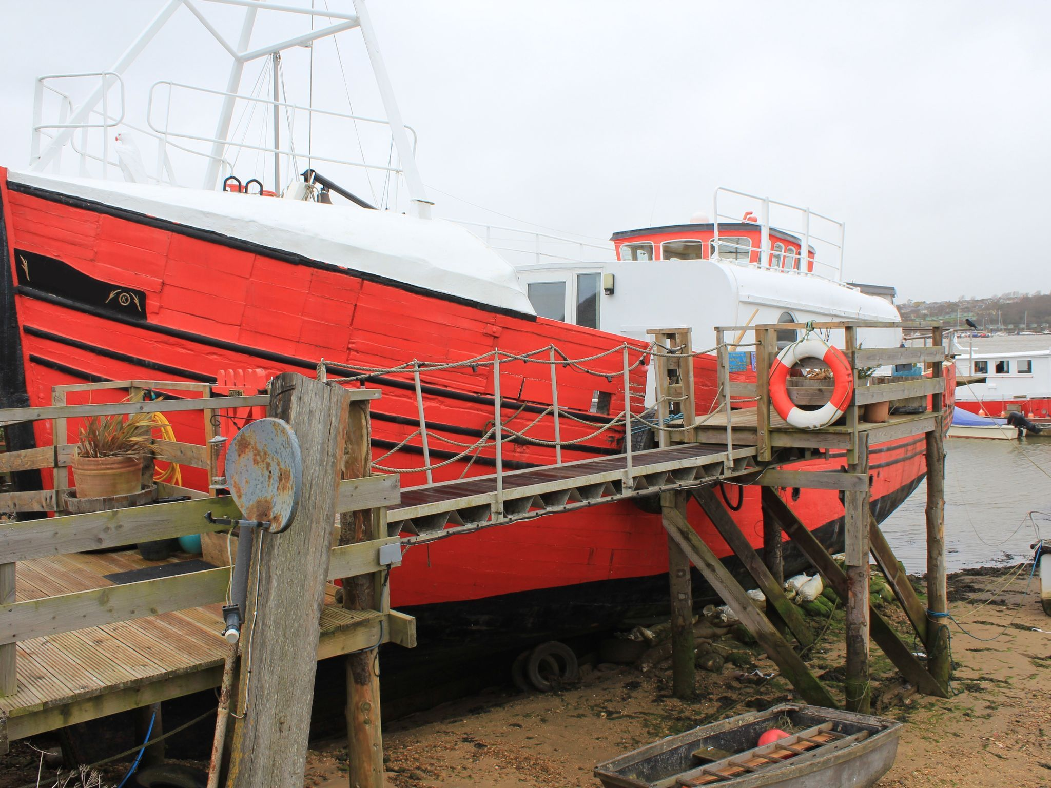 Houseboat Converted Trawler