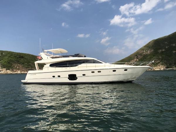 Ferretti Yachts 630 Ferretti Yachts 630 Profile