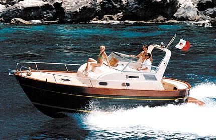 Apreamare 7.5m Manufacturer Provided Image: Semi Cabin Version