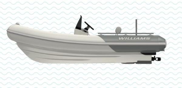 Williams Jet Tenders Sportjet 460 Manufacturer Provided Image: Williams Jet Tenders Sportjet 460