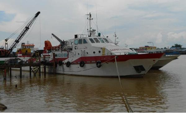 Offshore Supply Vessel Crew Boat  - Standby Safety - Deck 100 Tons 150' Offshore Supply Vessel For Sale $1,000,000
