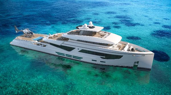 Rosetti Superyachts 52m PHI Design Supply Vessel