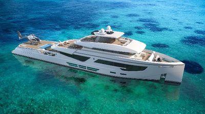 Rosetti Superyachts 52m PHI Design Supply Vessel