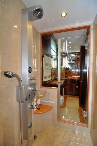 Master Walk-thru Shower
