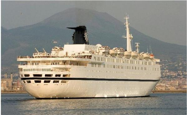 Cruise Ship, 1200 Passengers -Stock No. S2148