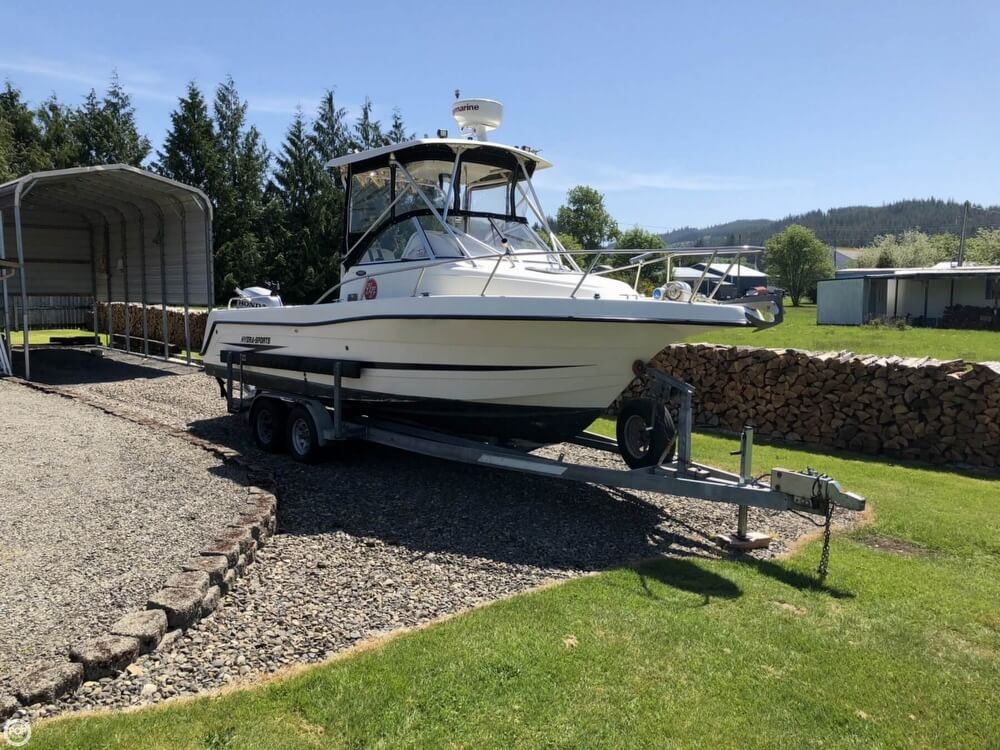 Hydra-Sports 2450 Anniversary Edition 1998 Hydra-Sports 2450 Aniverssary Edition for sale in Forks, WA