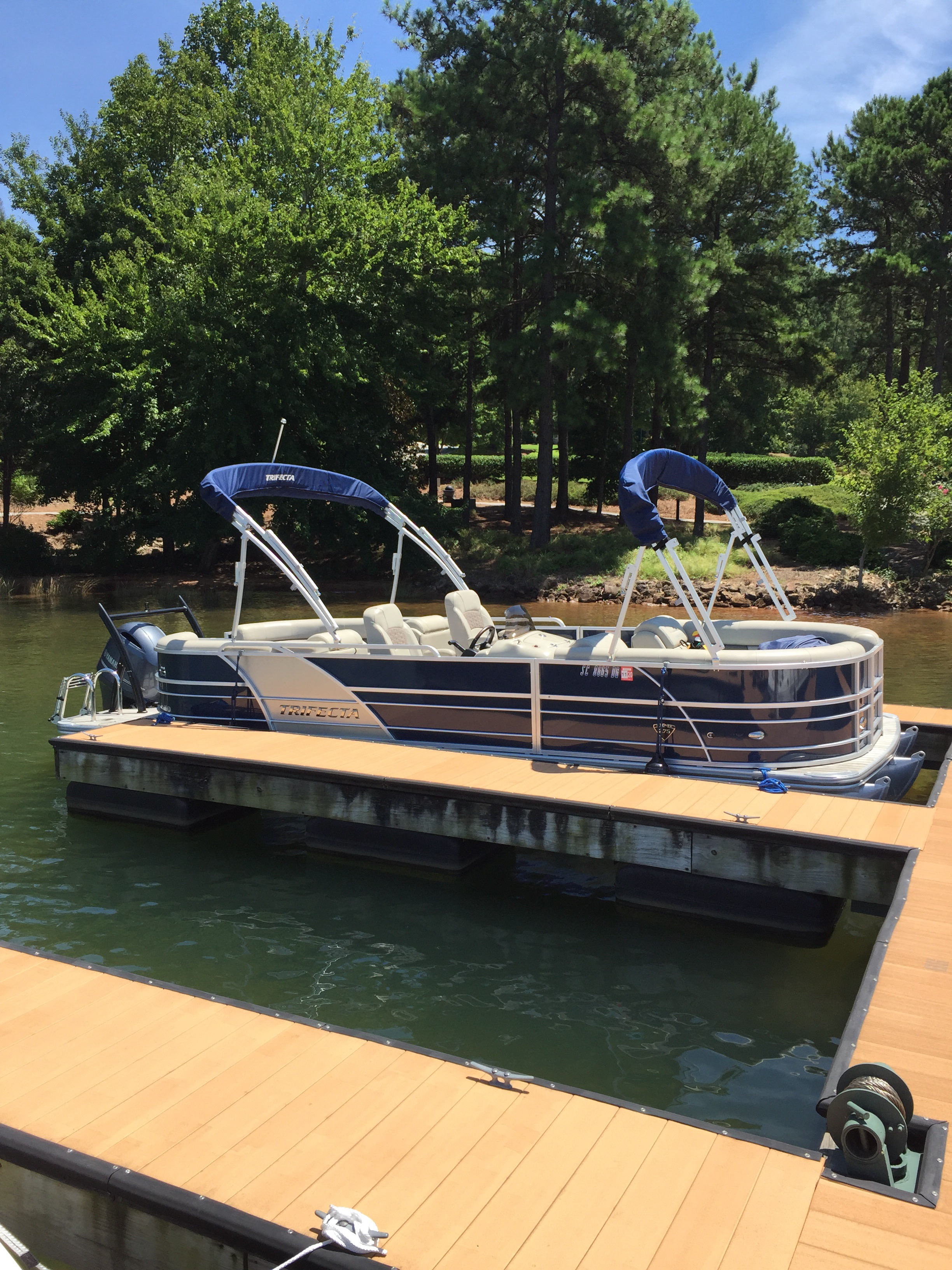 Aqua Patio Wet Bar: Pontoon Boats For Sale In United States