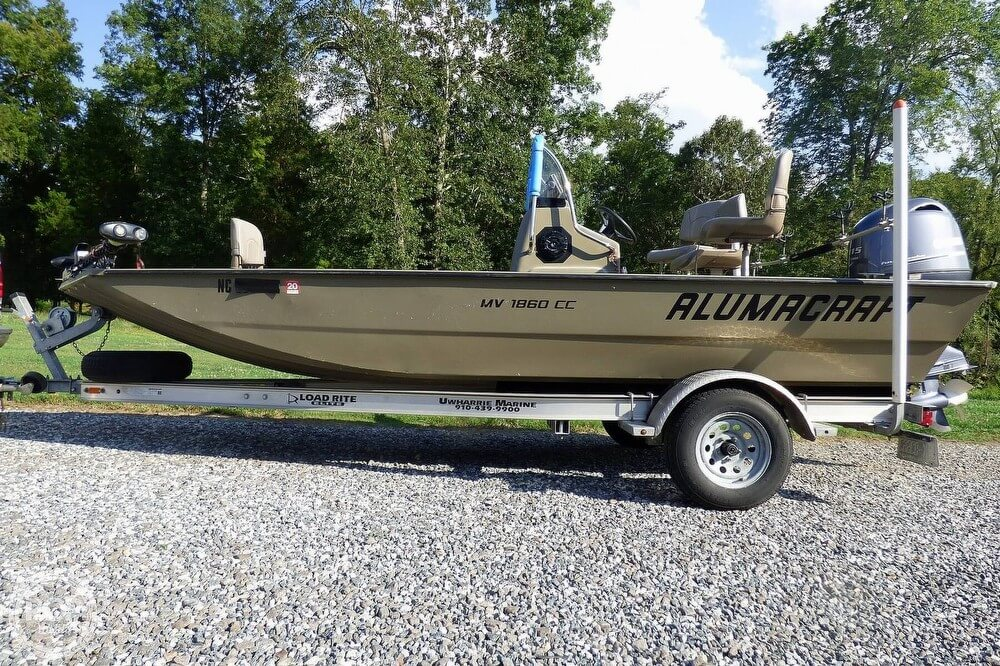 Alumacraft MV 1860 CC 2014 Alumacraft 18 for sale in Mocksville, NC