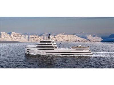 Rosetti Superyachts 85m Spadolini Helipad Supply Vessel